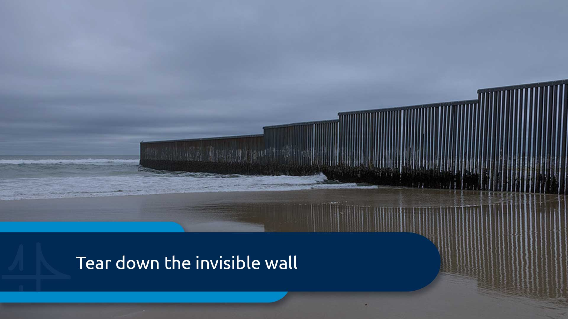 Tear down the invisible wall